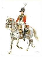 FRANKREICH 1815  -  GENDARMES DU ROI - CAPITAINE LIEUTENANT  (ARTIST  W. TRITT) - Uniformes