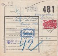 Postcolli - Colis Postaux - 481 - Mechelen Sekretariaat Voor De BONDEN Van Het H. HART - Klein Venetië - 1952-....