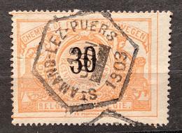 TR19 Gestempeld St Amand-lez-puers 1903 - 1895-1913