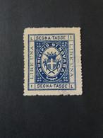 ITALIA REGNO 1894 SEGNATASSE MUNICIPIO DI NOVARA - Portomarken