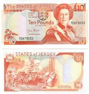 Jersey 10 Pounds 2000 UNC - Jersey