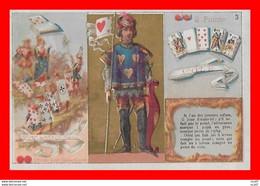 CHROMOS. Jeu De Carte Au Moyen-age...S2757 - Sonstige
