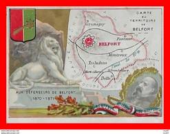 CHROMOS. Carte Du Territoire De Belfort...S2768 - Sonstige