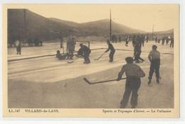 38 - Isère - Sport Hiver Neige - Villard De Lans - La Patinoire  Partie De Hockey Sur Glace - Villard-de-Lans