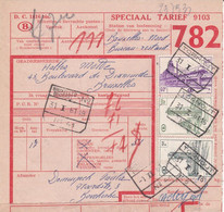 Postcolli - Colis Postaux - 782 - Bovekerke - Demunck Paula - Verse GROENTEN - 1952-....