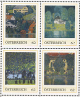 2014. Paysages  OSTERREICH Dans Son Présentoir. Landscapes From Gustav KLIMMT - 2011-... Nuevos & Fijasellos
