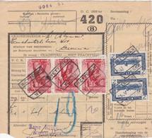 Postcolli - Colis Postaux - 420 - Serskamp Roger MIGERODE - Schoenfabriek - 1952-....
