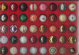 X 34 - Lot De 40 Capsules De Bouteilles De Champagne - Colecciones