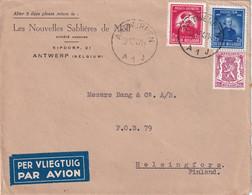 BELGIQUE 1947 LETTRE DE ANTWERPEN - Cartas