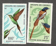 COMORO ISLANDS....1967: Yvert PA20-21mnh** BIRDS Cat.Value27Euros($32) - Neufs