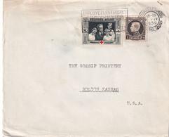 BELGIQUE 1939 LETTRE DE BRUXELLES - Cartas