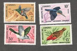 COMORO ISLANDS....1967: Yvert 41-4mnh** BIRDS Cat.Value36Euros($44) - Neufs