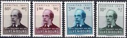 Luxembourg, Luxemburg 1947 CARITAS Michel Lentz Série Neuf** MNH Val.Cat.15€ - Unused Stamps