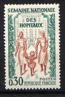 FRANCE - N° 1339** - SEMAINE NATIONALE DES HÔPITAUX - Unused Stamps