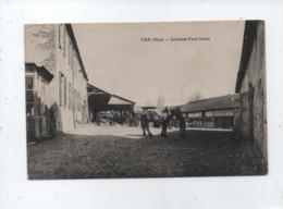 CPA  -   Ver  -(Oise) - Intérieur D'une Ferme - Autres Communes
