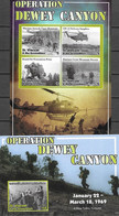ST. VINCENT AND THE GRENADINES, 2020, MNH, VIETNAM WAR, OPERATION DEWEY CANYON, HELICOPTERS, MARINES, SLT+S/S - Autres