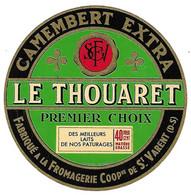 ETIQU CAMEMBERT LE THOUARET ST VARENT D.S. - Formaggio