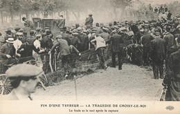 94 Choisy Le Roi Tragédie Fin D'une Terreur Bande à Jules Bonnot Foule Et Taxi Après La Capture , Police - Choisy Le Roi