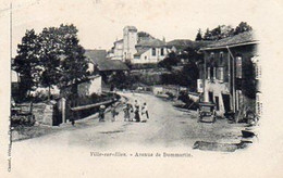 88-Ville-sur-Illon -- Avenue De Dommartin.;Edit:Chassel - - Unclassified