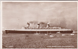 R.M.S. Queen Mary, Southampton (pk78136) - Paquebots