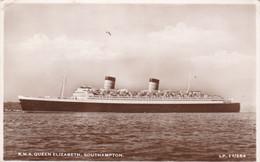 R.M.S. Queen Elisabeth, Southampton (pk78137) - Paquebots