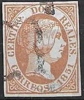 ESPAÑA 1850 Edi:ES 8 F - Oblitérés