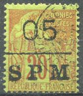 SAINT PIERRE ET MIQUELON - Y&T  N° 8 (o) - Used Stamps
