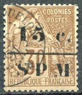 SAINT PIERRE ET MIQUELON - Y&T  N° 12 (o) - Used Stamps