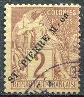 SAINT PIERRE ET MIQUELON - Y&T  N° 19 (o) - Used Stamps