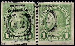 UNITED STATES - Scott #552 Franklin (3) / Used Stamp - Gebraucht