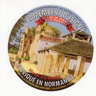 Mar21  148011   étiquette  Camembert  D'isigny  Au Lait De Ferme - Formaggio