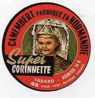 Mar21  14158    étiquette  Camembert   Super Corinnette - Formaggio