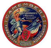 Mar21  14146    étiquette  Camembert  Léon Lebourgeois  à Boissey - Formaggio