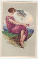 Illustrateurs  Signé // T.Corbella  //  Femme - Corbella, T.