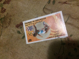 GIBUTI SPORT OLIMPIADI  1 VALORE - Autres - Afrique