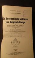 De Voornaamste Culturen Van Belgisch-Congo - Door M. Van Den Abeele - 1951 - Zaïre Kongo Kolonie - A. Groene Planten