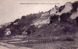 Chantemesle - L ' Usine De Ciment Et Les Côtes - Altri Comuni