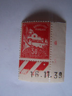 ALGERIE 16-11-1939 ALGER LA PECHERIE DATEE - Neufs