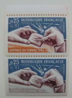 N° 1477a**  Grav. Poinçon  T à N  Cote: 350€ - Variétés: 1960-69 Neufs