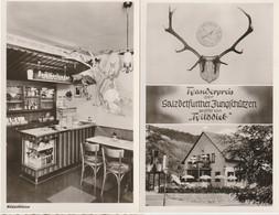 Lot 2 AK Bad Salzdetfurth, Wilddieb-Klause, Innenansicht Und Wanderpreis Für Jungschützen Um 1960 - Bad Salzdetfurth