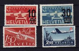 Suisse (1935-47) - Poste Aerienne - Neufs* - MLH - Ungebraucht