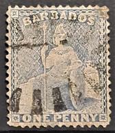 BARBADOS 1859 - Canceled - Sc# 11 - 1d - Barbados (...-1966)