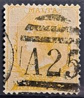 MALTA 1882 - Canceled - Sc# 7 - 0.5d - Malta (...-1964)