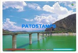 154560 ARGENTINA SALTA DIQUE COBRA CORRAL ONLY FOR CUSTOMERS POSTAL POSTCARD - Argentina