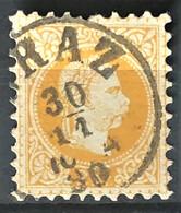 AUSTRIA 1874 - MLH - ANK 35 II Bz. 9,5 - 2k - Usados