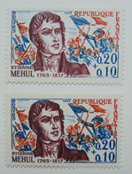 N° 1371**  E. Méhul - Variétés: 1960-69 Neufs