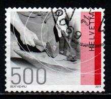 SVIZZERA - 2011 - MESTIERI TRADIZIONALI: ARROTINO - USATO - Gebraucht
