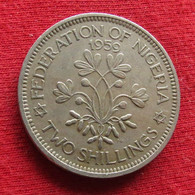 Nigeria 2 Shillings 1959 KM# 6 Two Shilling - Nigeria