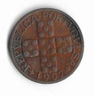 L-169  PORTUGAL=1967    20  CENTAVOS - Portugal