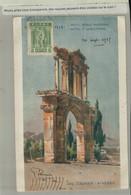 Athènes, ARC D'ADRIEN  Illustrateur  Illustration  Aquarelle Signée Edit. The Lampsa Hotels (Mars Eur 2021 57) - Griekenland